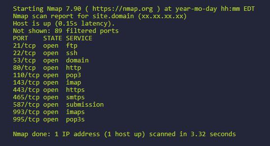 Scan des infrastructures réseaux